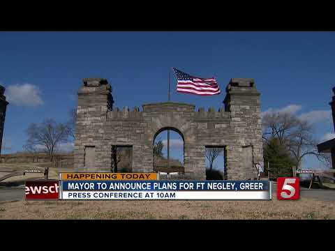 Briley To Announce Plans For Fort Negley, Greer Stadium