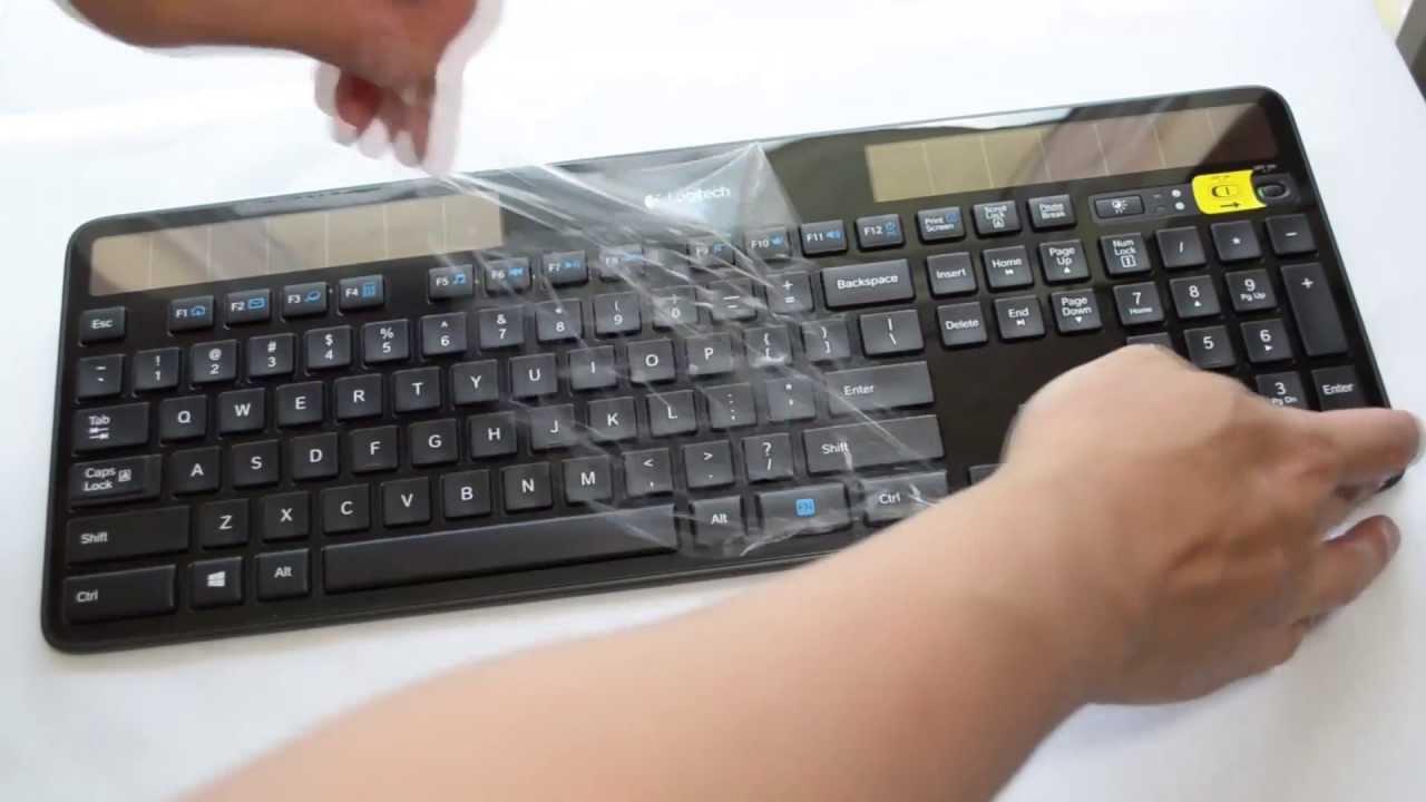 REVIEW Logitech K750 Wireless Keyboard