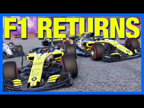 F1 2018 CAREER MODE RETURNS AGAIN!!