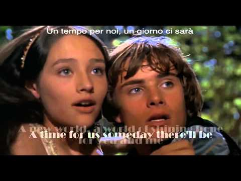 Canzone d'amore (Giulietta e Romeo di Franco Zeffirelli Del 1968) musica di Nino Rota
