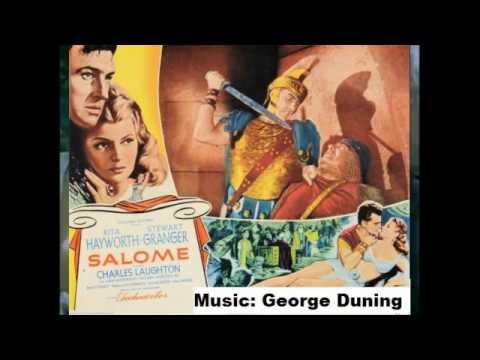 George Duning - Salome 1953 - Stewart Granger Film Music