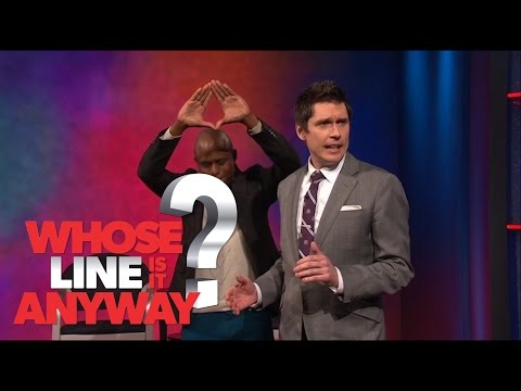 Wayne Brady and Jeff Davis cover Neil Diamond and Kanye West - Whose Line Is It Anyway?