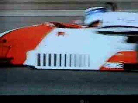 Team Lotus F1 / Mika Hakkinen`s  first  F1 Test