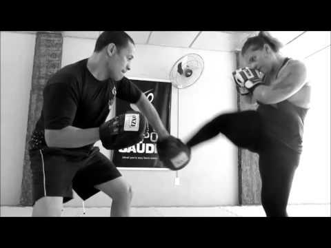 MMA Fitness com Instrutor Santiago na Academia Espaço Corpo e Saúde
