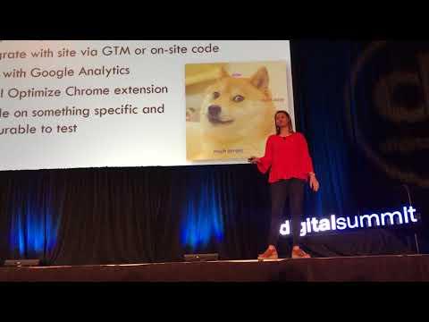 Google Optimize Presentation by Laura Duncan - Phoenix Digital Summit 2018