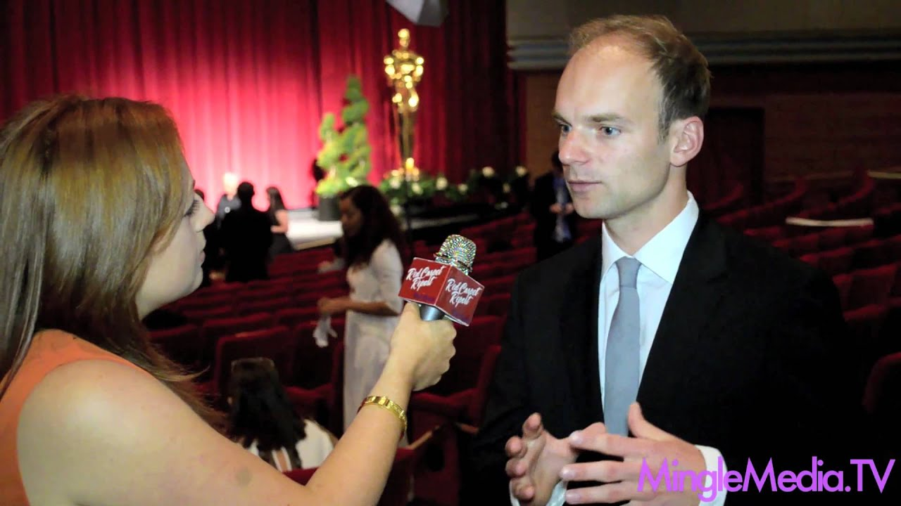thomas stuber at the 39th student academy awards red carpet - youtube