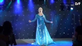 drag performance, Brooklyn Stone, Frozen Quick Change Costume
