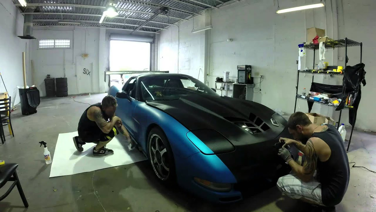 Corvette Wrap Time Lapse Youtube