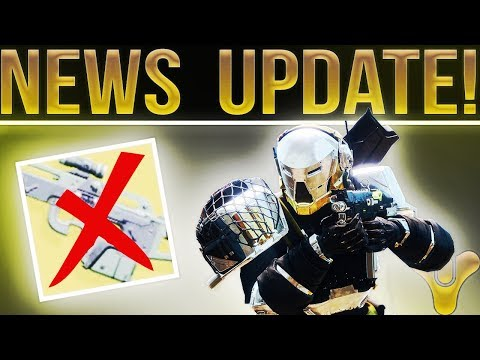 Destiny 2. NEW UPDATE! 1.0.3.1, Mida Sort Of Addressed, Server Down Time, Sandbox Tuning and More!