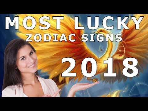 Most Lucky Zodiac Signs Of 2018