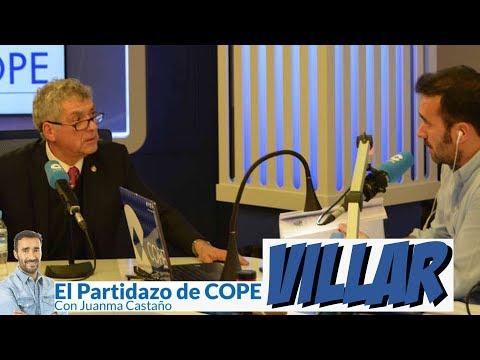 Entrevista a Ángel María VILLAR en El Partidazo de COPE (18/12/2017)