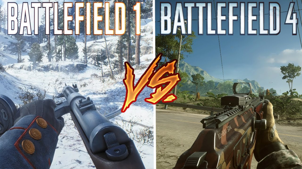 Battlefield  Vs Battlefield  Attention To Detail