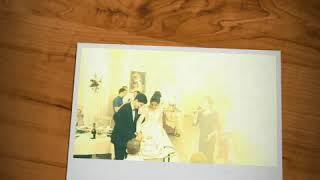 Семейный очаг, снятие фаты, торт, букет, бутоньерка