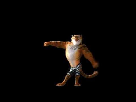 Zootopia - Dancing Tiger (Shakira - La La La)