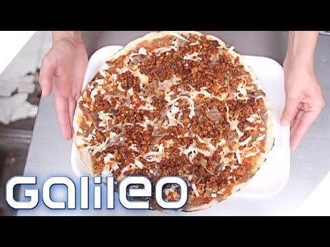 Pizza weltweit: 3 ungewöhnliche Pizza-Varianten im Test | Galileo | ProSieben