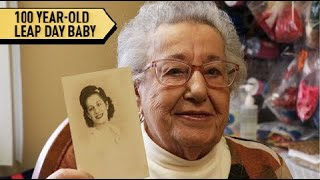 100-Year-Old Leap Day Baby Celebrates '25th Birthday' | All Good