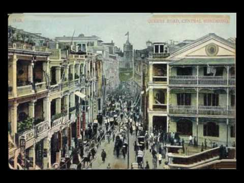 Old Hong Kong in postcards 1895 - 1936 - YouTube