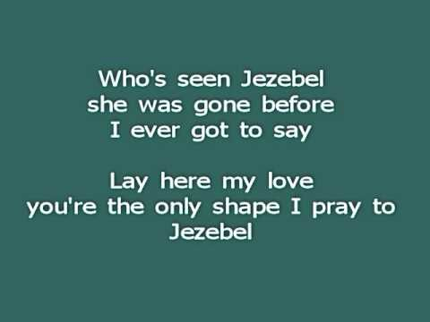 Jezebel (Iron & Wine, acoustic cover w/ lyrics)