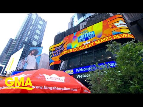 'GMA' announces 2019 Summer Concert Series lineup l GMA
