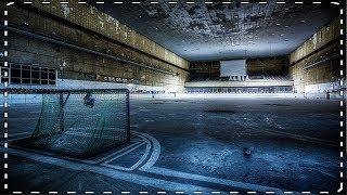 Verlaten ijshockeybaan.. (club logo + schaatsen gevonden) #VAELTAX