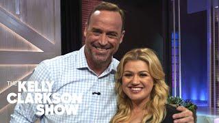Watch Matt Iseman Break His Foot On Camera   The Kelly Clarkson Show