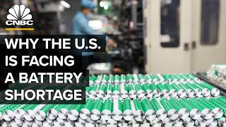 Why The U.S. EV Industry Is Facing A Battery Shortage