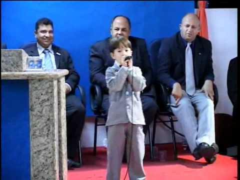 Criança, faz cair Fogo na igreja!!! menor cantor mirim gospel-Paulinho-Gideõeszinhos 2010- #1