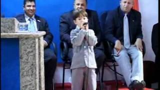Criança, faz cair Fogo na igreja!!! menor cantor mirim gospel-Paulinho-Gideõeszinhos 2010-