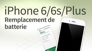 iPhone 6/6 Plus/6s/6s Plus changer batterie: Tutoriel et FAQ
