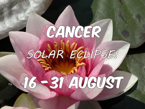 CANCER In-Depth Solar Eclipse GENERAL Tarot Reading 16-31 August 2017