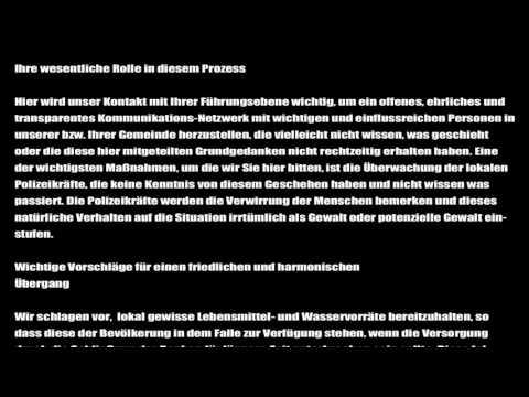 prepare for change: Mitteilung an deutsche Führungskräfte
