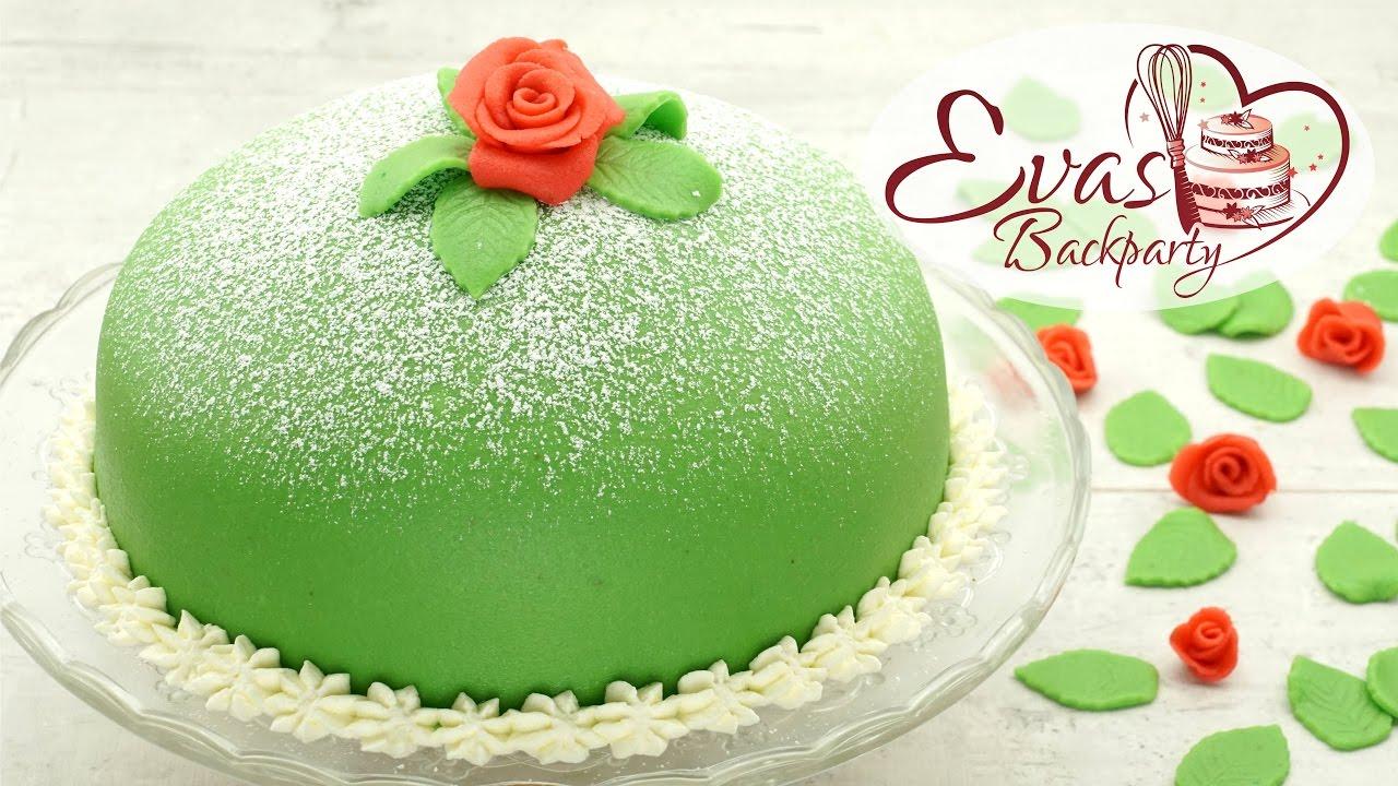 Schwedische Prinzessinnen Torte Prinsesstarta Princess Cake