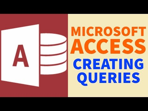 Creating Queries | Microsoft Access