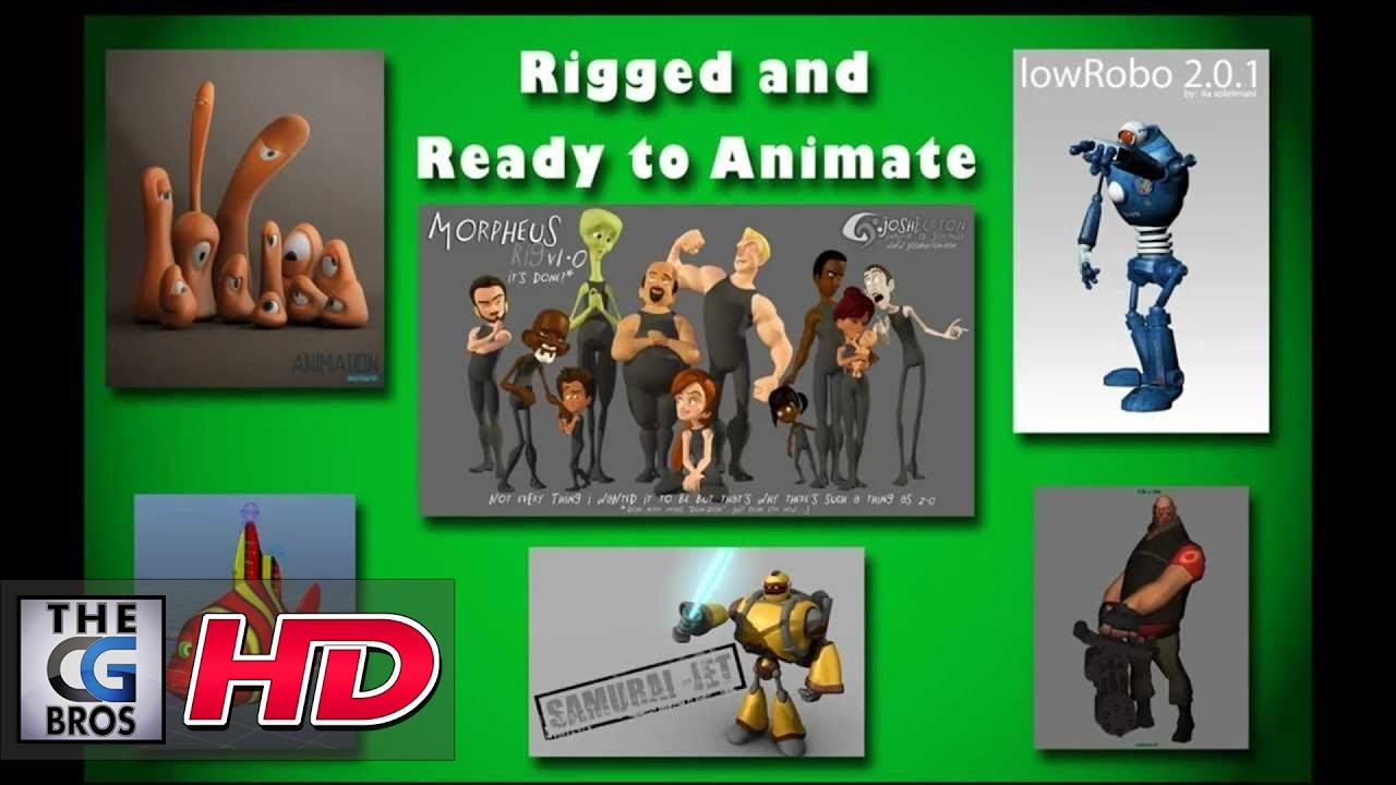 Free Maya Rigs For Commercial Use