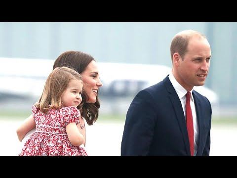Prince George and Princess Charlotte join royal tour in Poland