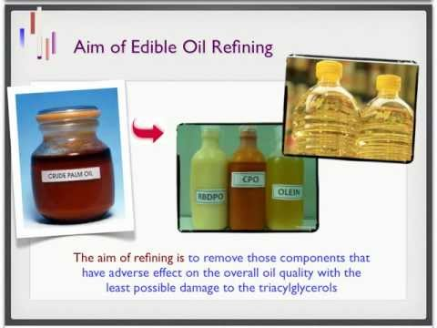 Palm Oil Refining: Part 1