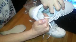 видео Женские кеды Половина-тапочки