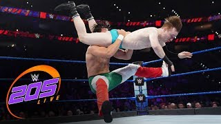 Gentleman Jack Gallagher vs. Angel Garza: WWE 205 Live, Nov. 15, 2019