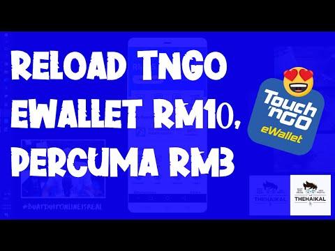 Reload TnGo Ewallet RM10, Dapat Percuma RM3
