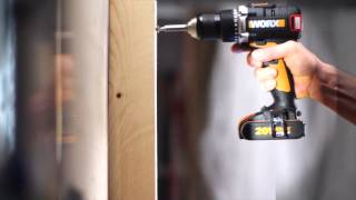 WORX Brushless 20V Cordless Impact Drill