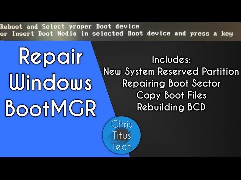 Repair Windows Boot