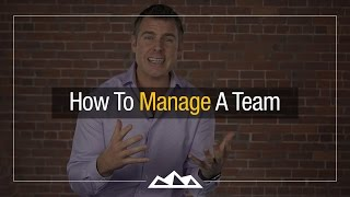 how to manage a startup team dan martell
