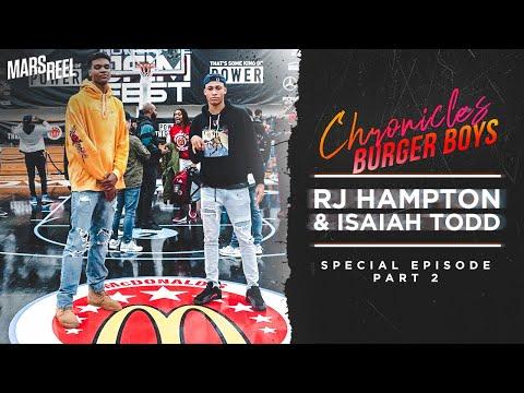 ISAIAH TODD & RJ HAMPTON | McDonald's All American Special | Ep. 02 | Mars Reel Chronicles