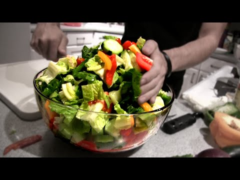 Epic Greek Salad (4,000 Calories)