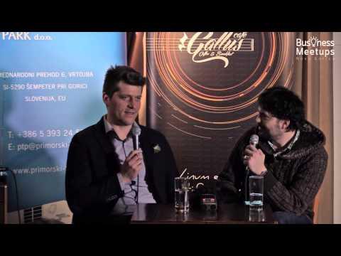 16. Business Meetups Nova Gorica, Primorski tehnološki park, 19. 2. 2015. Gost: Rok Mesar