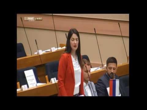 Rasprava: Jelena Trivić - ministar Lukač