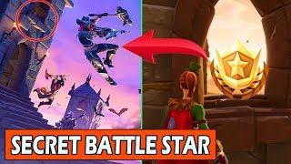 SECRET WEEK 5 BATTLE STAR (LOADING SCREEN) FORTNITE WEEK 5 FREE TIER LOCATION!