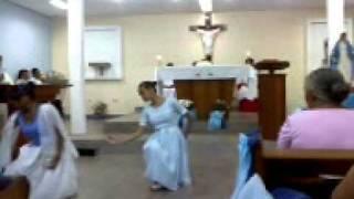 capela nossa senhora medianeira coreografia colo da mãe