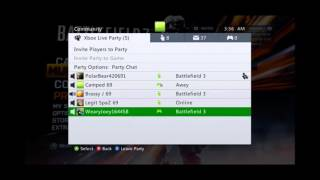 Team i Battlefield 3 | XBOX PARTY! The Biggest Bitch  Weapons on BF3 lol