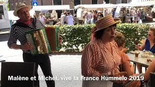 Malène et Michel festival Vive la France Hummelo